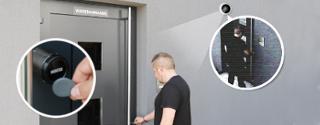 Kentix Video-Aufzeichnung bei Zutritt