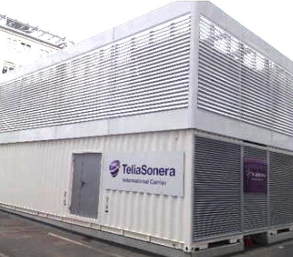 TeliaSonera Generator Gebäude