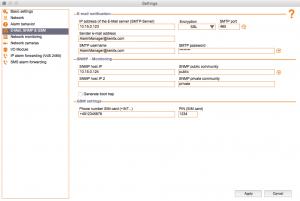 Kentix ControlCenter - EMail, GSM, SNMP