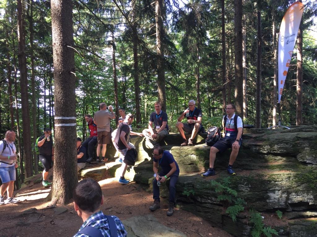 Pause beim sysob Gipfeltreffen