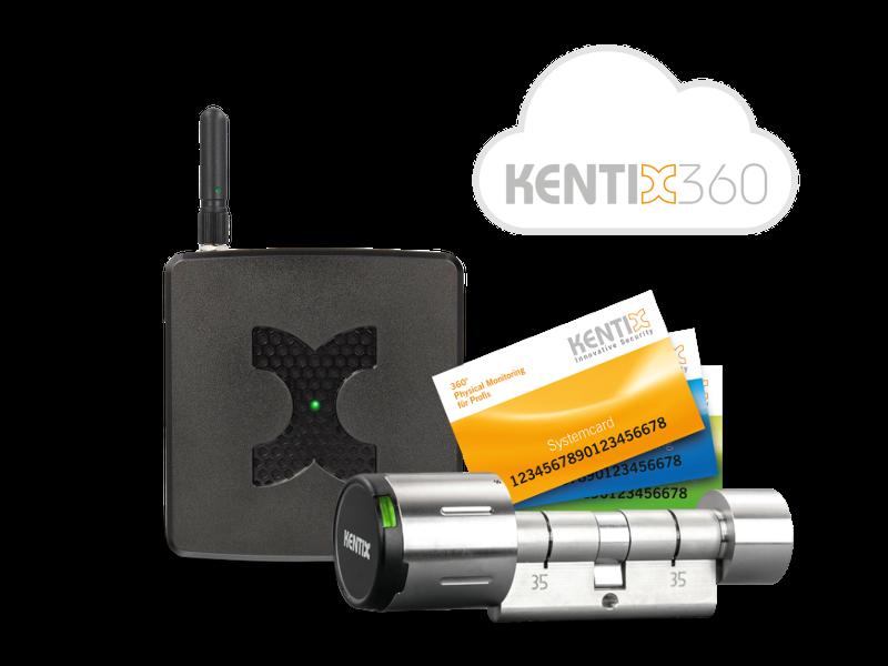 Online access control made easy with the Kentix StarterSet-DoorLock