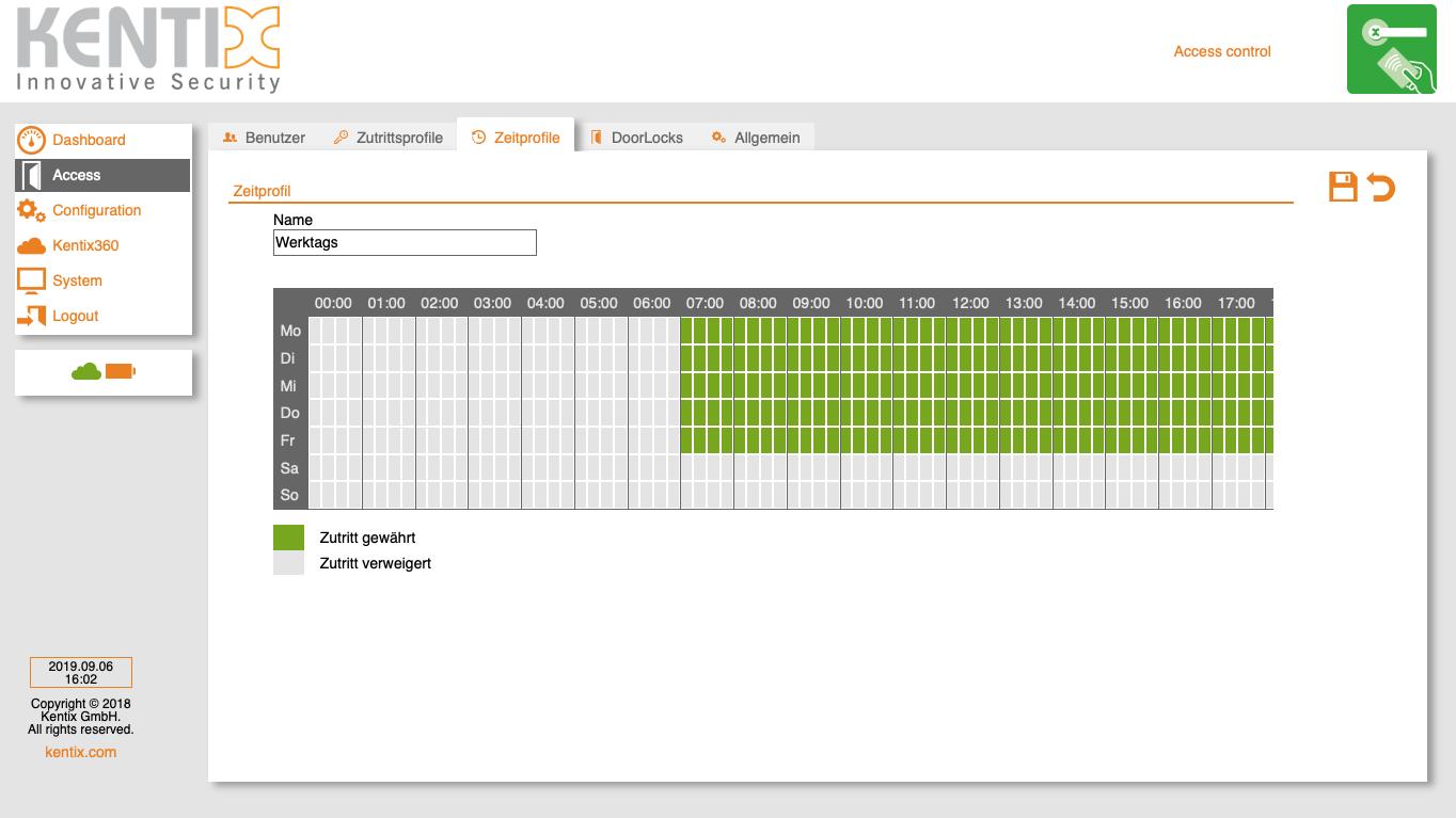 Screenshot time profile