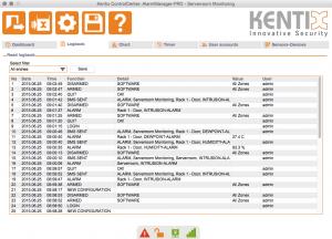 Kentix ControlCenter - Logbook
