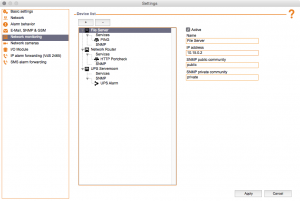 Kentix ControlCenter - Network Monitoring