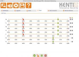 Kentix ControlCenter - Timer